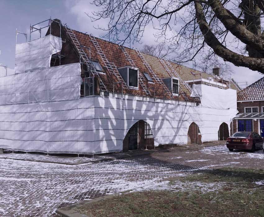 Dolhuys verbouwing Haarlem