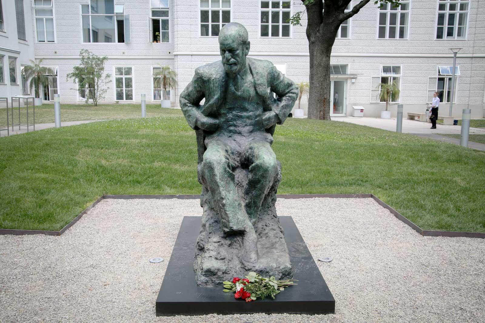 Standbeeld Freud