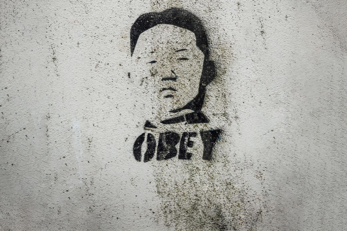 De autoritaire leider